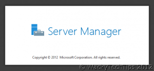Installing DHCP Role on Windows Server 2012