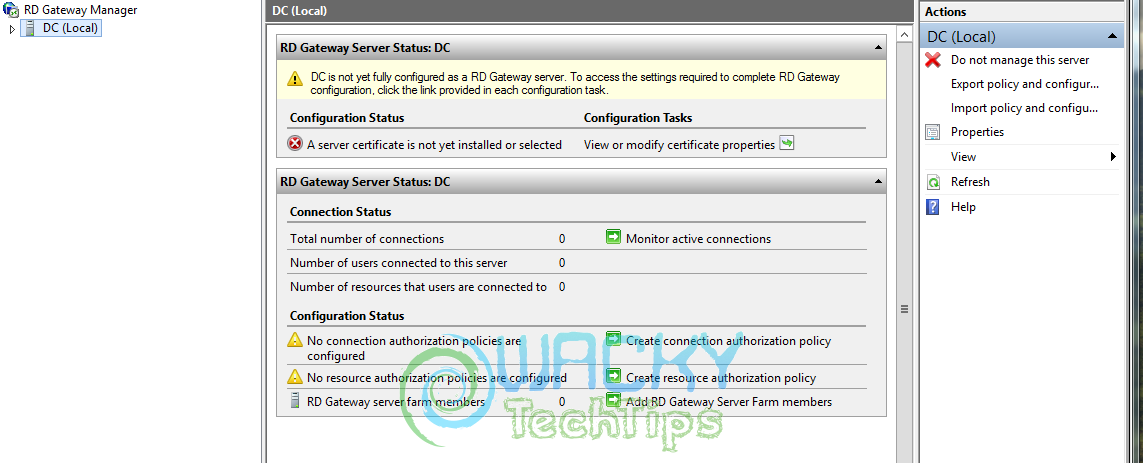 Installing and Configuring Remote Desktop Services (RDS) on
