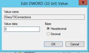 Remotely enable or disable remote desktop on a Windows | WackyTechTips